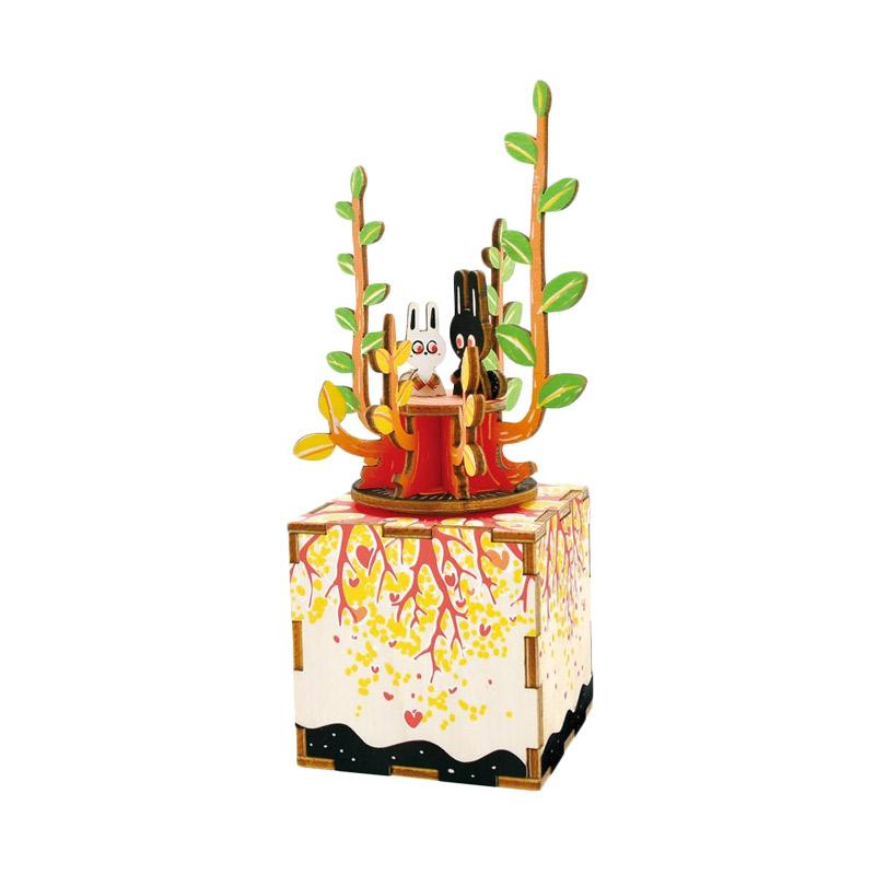 harga Ohome AN-KU025F Puzzle Dekorasi Music Box Instrumental Kotak Musik Blibli.com