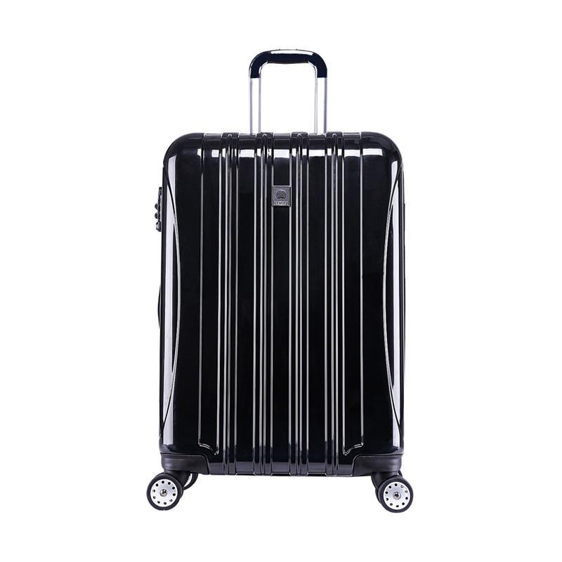 harga GOTF - Delsey Helium Aer Glossy Hard Case Trolley Koper - Hitam [Large/ 81 cm/ 4 Wheels] Blibli.com