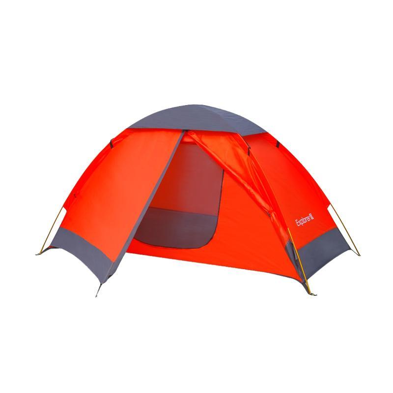 harga Eiger Explorer 1P Beta Tent Tenda - Orange [1 Orang] Blibli.com
