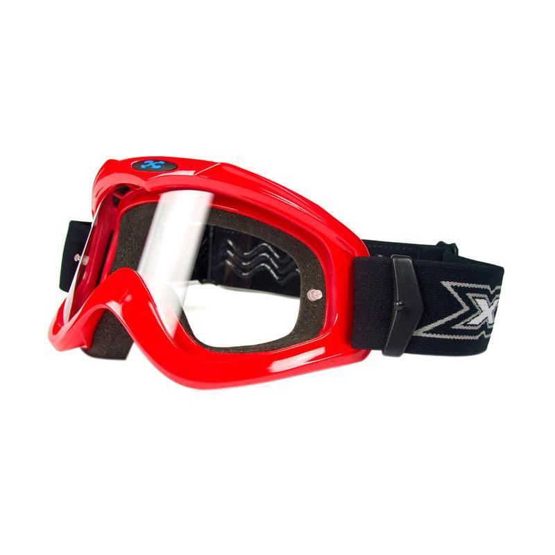 Xforce® Max Moto Cross Goggle - Red