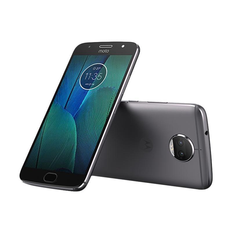 Motorola Moto G5s Plus Smartphone - Abu-abu [32 GB/4 GB]