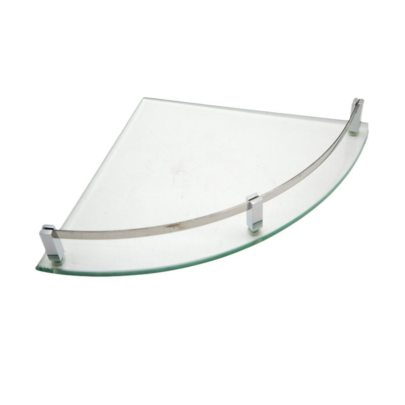 HAN 6001 Rak Sudut Kaca - Perak