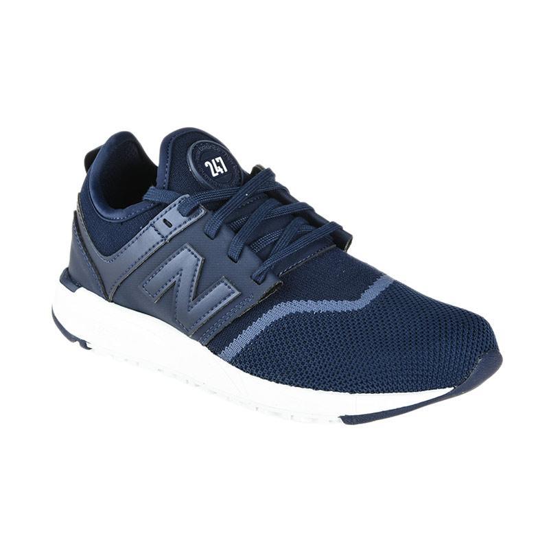 New Balance Women Lifestyle 247 Sport Sepatu Olahraga Wanita - Navy [NEWWRL247EA]