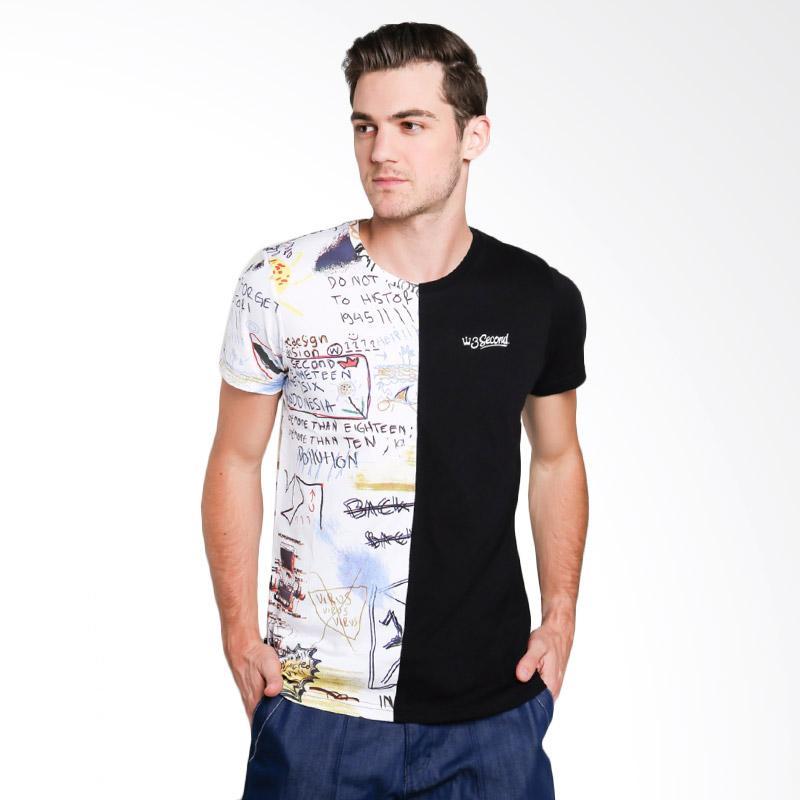 3SECOND 3112 Men Tshirt - White