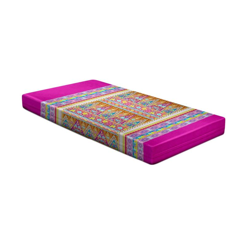 harga Monalisa Motif Sekar Disperse Set Sprei - Pink [Tinggi : 20 cm] Blibli.com