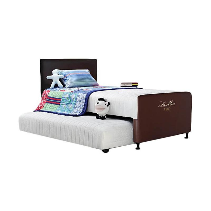 The Luxe 2 in 1 Primary Mattress - Choco [100 x 200 cm]