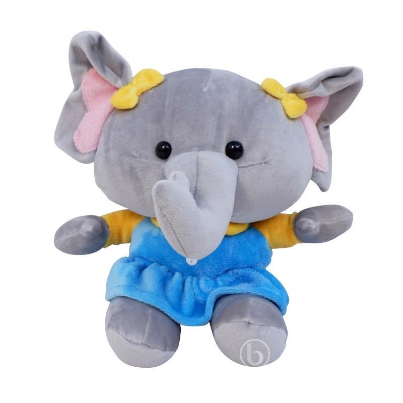 Istana Boneka Circus Elephant  Choki - Blue [9 Inch]