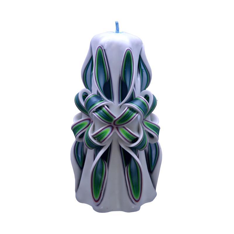 Indische Candle House Transcendence Lilin Ukir [6 Inch] Handmade dan Organik Wax