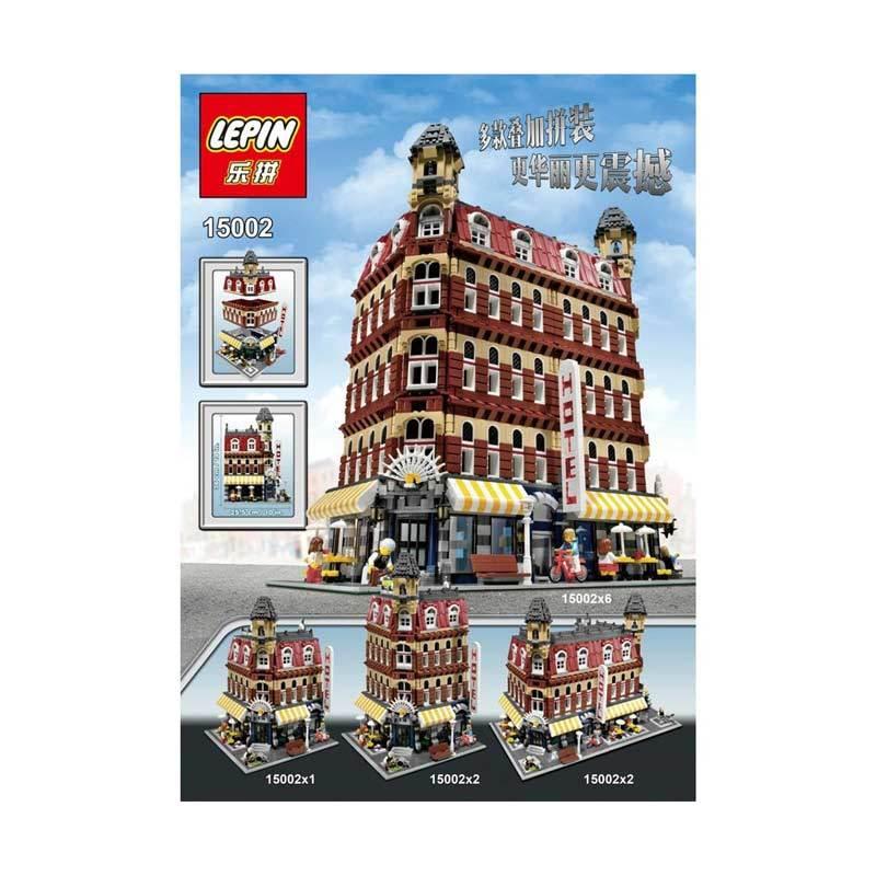 Lepin 15002 Cafe Corner Mainan Blok & Puzzle