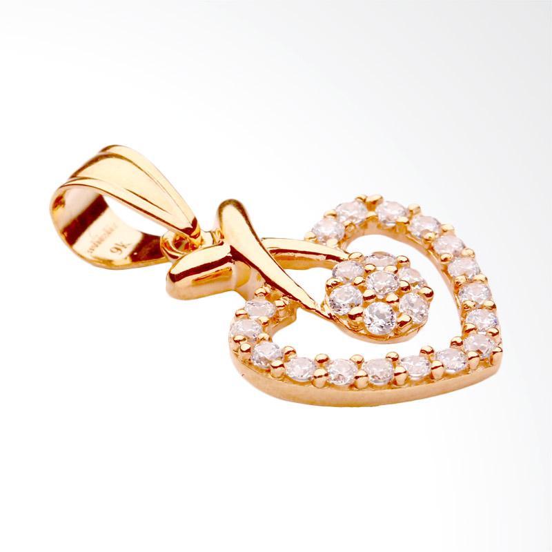 WhizLiz Gold Pendant Liebe Liontin Emas [9K]