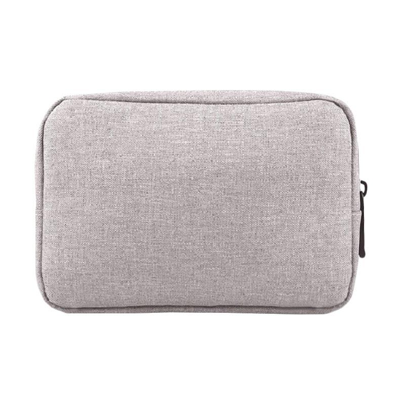 Cooltech Pouch for Tempat Chager or Adaptor Laptop - Abu [Size M]
