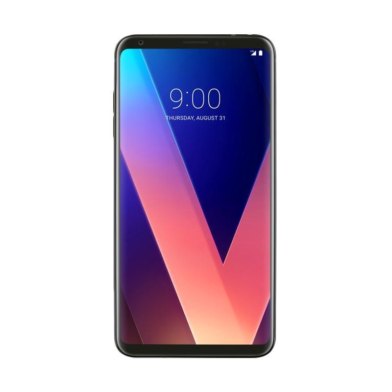 harga PROMO LG V30 Plus Smartphone - Black [4GB/128GB] Blibli.com