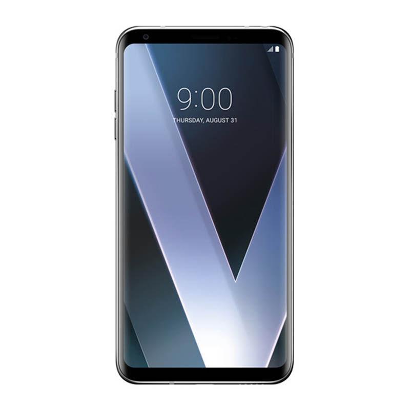 harga PROMO LG V30 Plus Smartphone - Silver [128GB/ 4GB] Garansi 1 Tahun Blibli.com