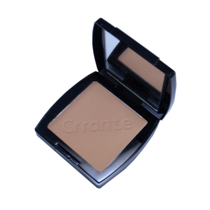 Ulasan Terbaru Crrante Compact Powder Bedak Padat - Dark Beige [14 g] Dan Harganya