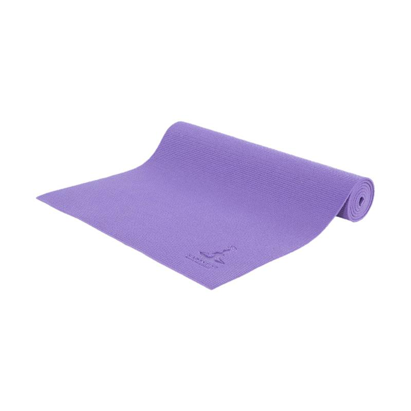 HAPPYFIT Matras Yoga - Purple [6 mm] + Free Tas