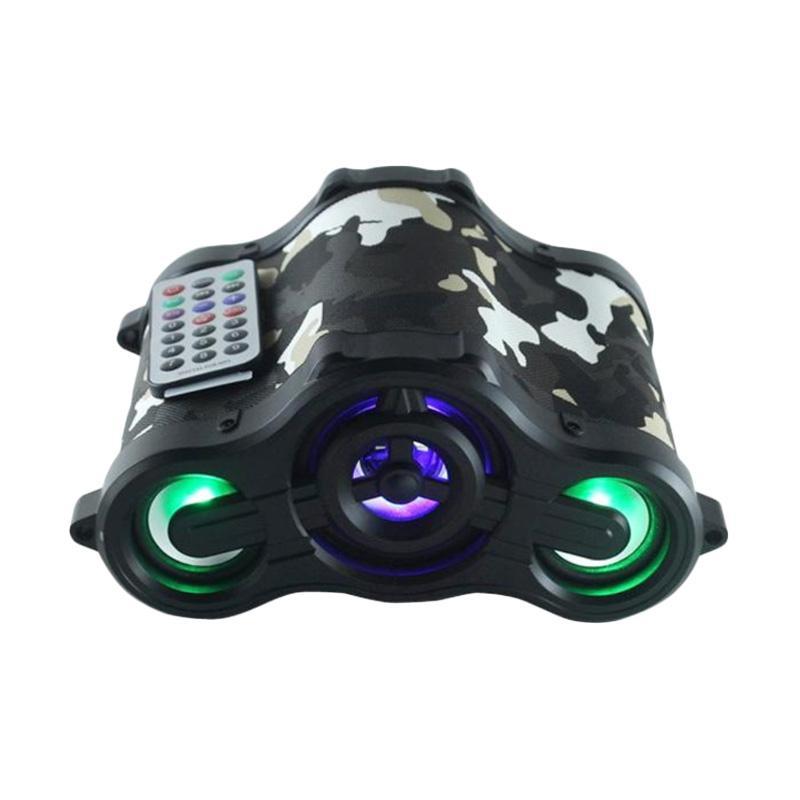 Advance Tentara TP-ONE Speaker Portable with LED - Hitam