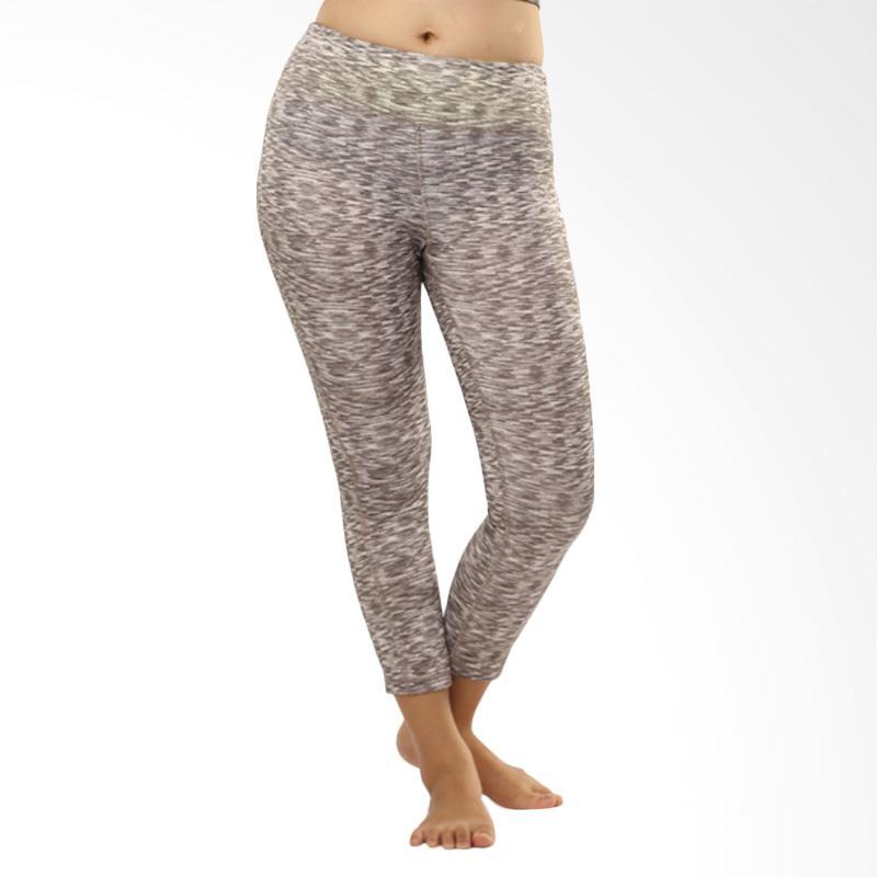 N.Y.L Active Mach Capri Yoga Celana Olahraga Wanita - Grey Misty [08NYL200015]