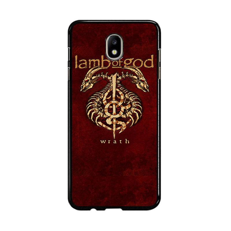 Flazzstore Lamb Of God Metal Band F0192 Custom Casing for Samsung Galaxy J5 Pro 2017