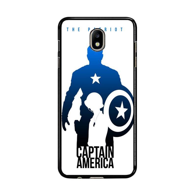 Flazzstore Captain America Avengers Texture Z0716 Custom Casing for Samsung Galaxy J7 Pro 2017