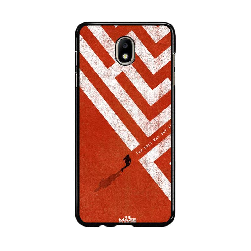 Flazzstore The Maze Runner The Only Way Out Is Within Z0695 Custom Casing for Samsung Galaxy J5 Pro 2017