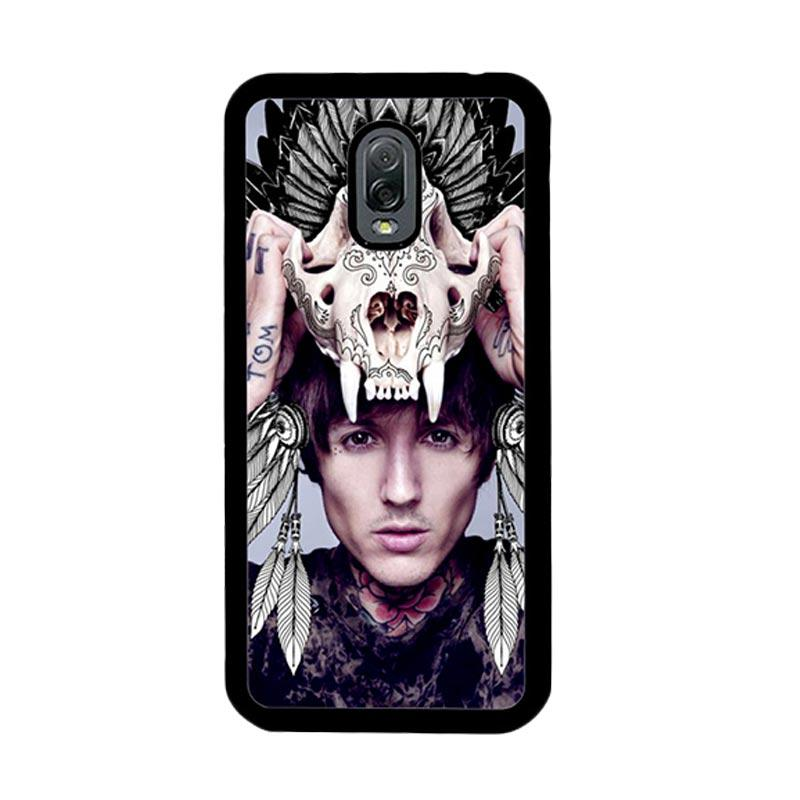 Flazzstore Oliver Sykes Skull Head Z0275 Custom Casing for Samsung Galaxy J7 Plus