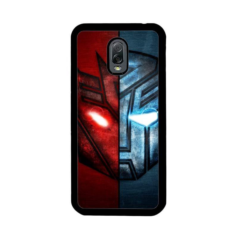 Flazzstore Transformer 2 Face Of Autobots Decepticons Z0298 Custom Casing for Samsung Galaxy J7 Plus
