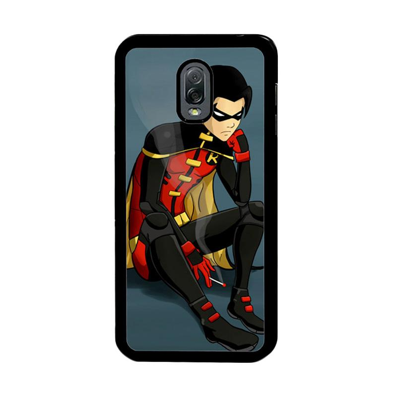 Flazzstore Robin Superhero Z0306 Custom Casing for Samsung Galaxy J7 Plus - Multicolor