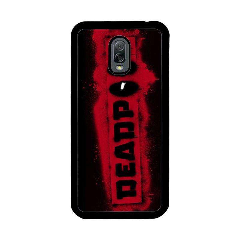 Flazzstore Deadpool Logo Brush Z1241 Custom Casing for Samsung Galaxy J7 Plus - Multicolor