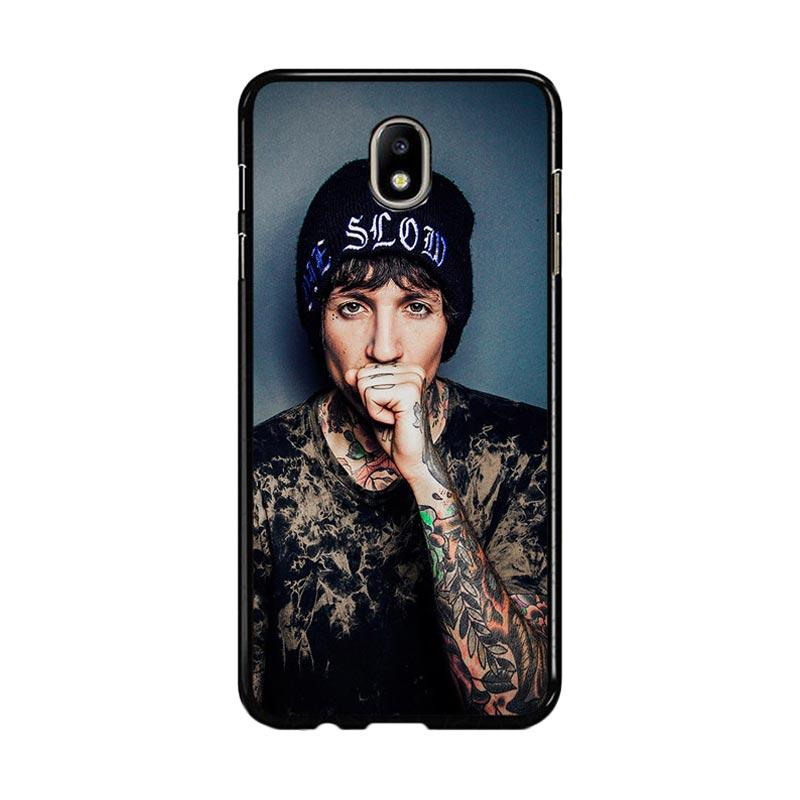 Flazzstore Oliver Sykes Bring Me The Horizon And Signature F0543 Custom Casing for Samsung Galaxy J7 Pro 2017