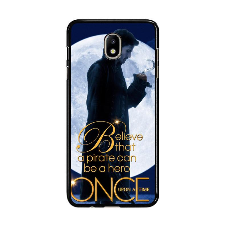 Flazzstore Once Upon A Time Captain Hook Believe F0542 Custom Casing for Samsung Galaxy J7 Pro 2017