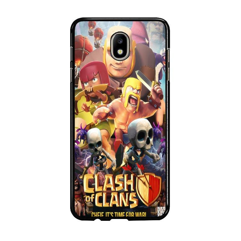Flazzstore Clash Of Clans Movie Z0154 Custom Casing for Samsung Galaxy J7 Pro 2017 - Multicolor
