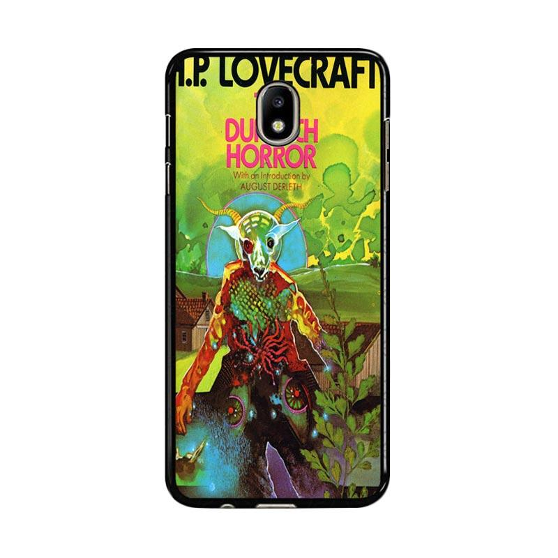 Flazzstore Hp Lovecraft Paperback Cover The Dunwich Horror Z0194 Custom Casing for Samsung Galaxy J7 Pro 2017
