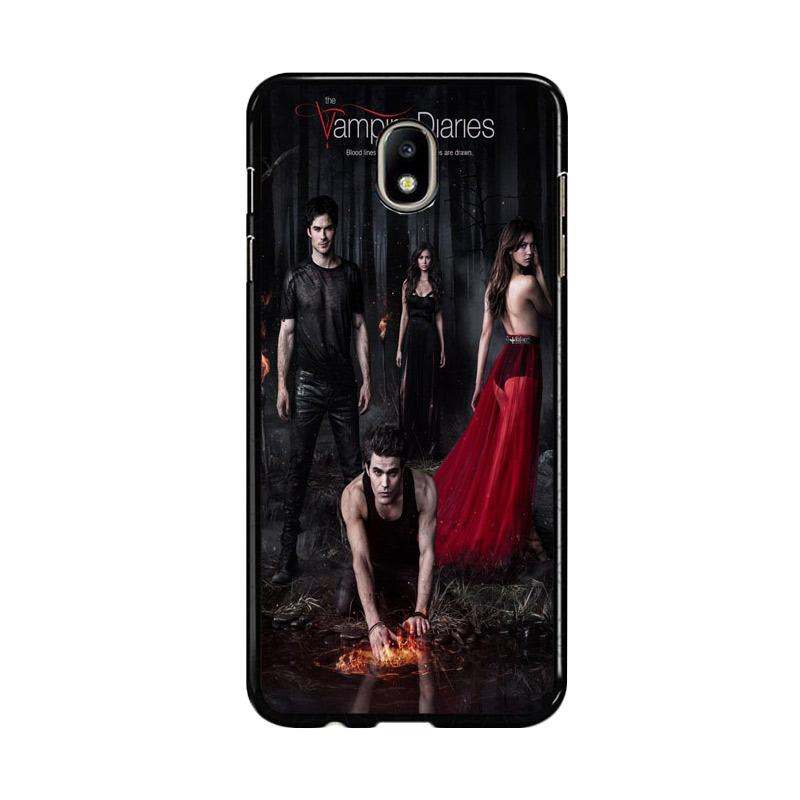 Flazzstore Vampire Diaries Season 5 Posters Z0151 Custom Casing for Samsung Galaxy J5 Pro 2017