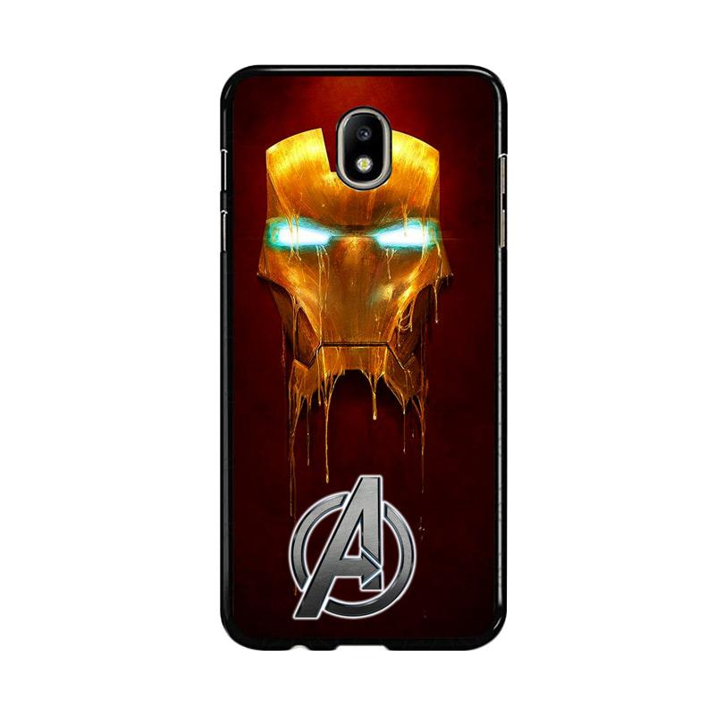 Flazzstore Ironman The Avengers Painting Z0262 Custom Casing for Samsung Galaxy J7 Pro 2017