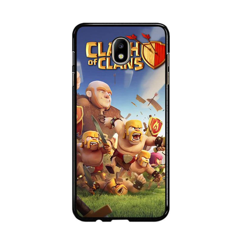 Flazzstore Clash Of Clans Mobile Games Z0430 Custom Casing for Samsung Galaxy J7 Pro 2017