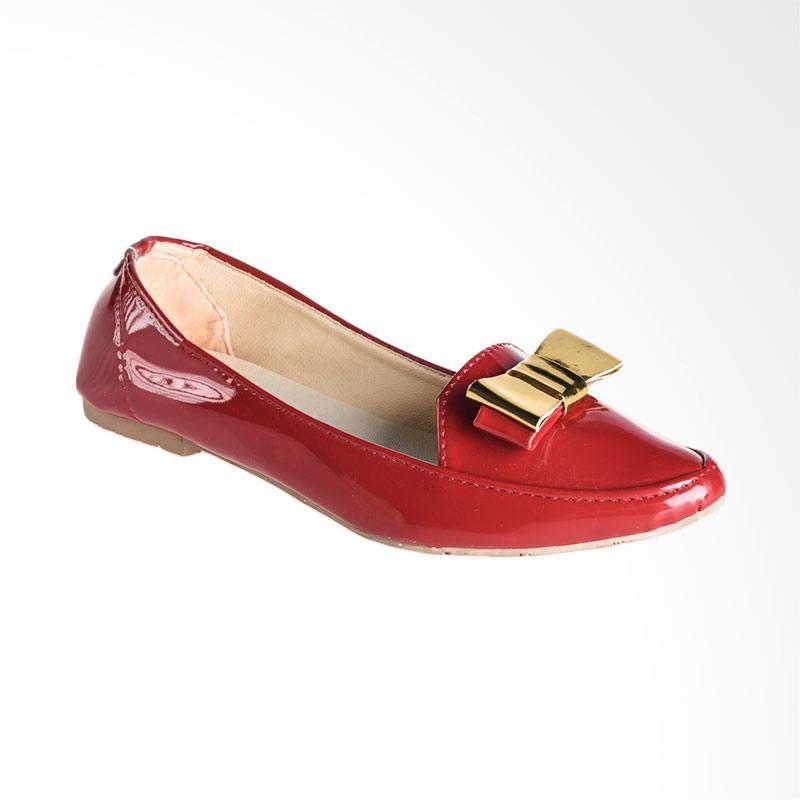 A.C.C.E.P.T. Joy Flat Shoes - Red