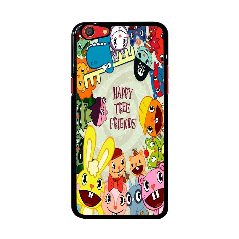 Flazzstore Happy Tree Friends Character Z0900 Custom Casing for Oppo F3