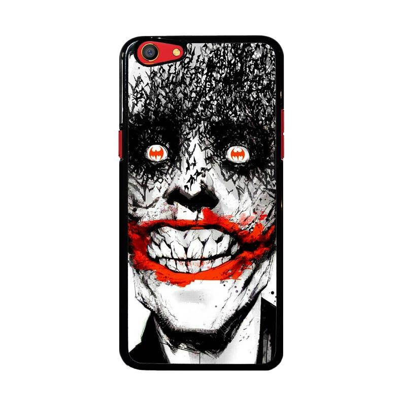 Flazzstore Creepy Smile Face Joker Z0981 Custom Casing for Oppo F3