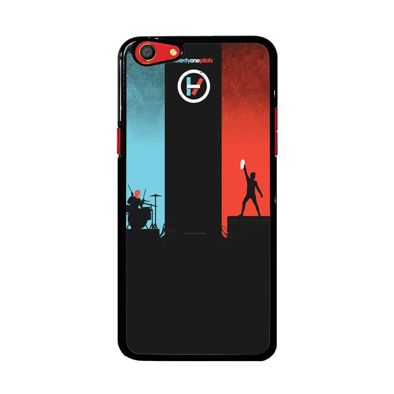 Flazzstore Twenty One Pilots Red And Blue Z0984 Custom Casing for Oppo F3