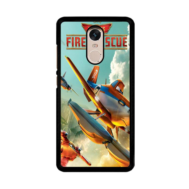 Flazzstore Disney Planes Fire And Rescue Z0899 Custom Casing for Xiaomi Redmi Note 4 or Note 4X Snapdragon Mediatek