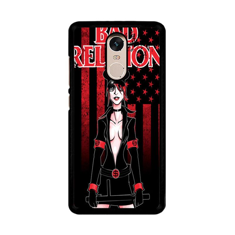 Flazzstore Bad Religion I Unused Z1007 Custom Casing for Xiaomi Redmi Note 4 or Note 4X Snapdragon Mediatek