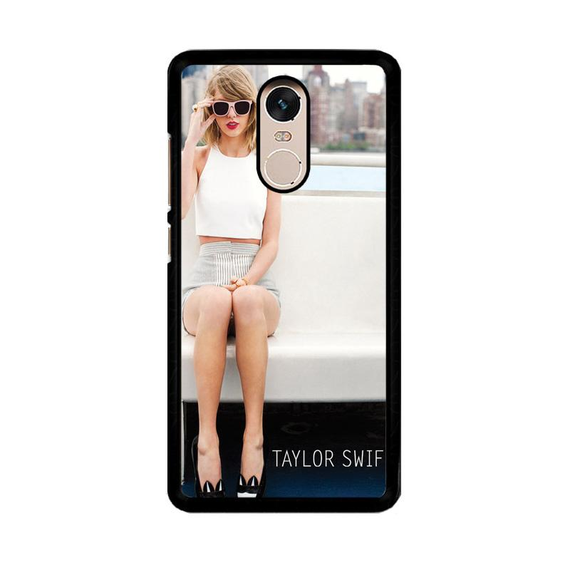 Flazzstore Taylor Swift 1989 Skyline  Z1266 Custom Casing for Xiaomi Redmi Note 4 or Note 4X Snapdragon Mediatek