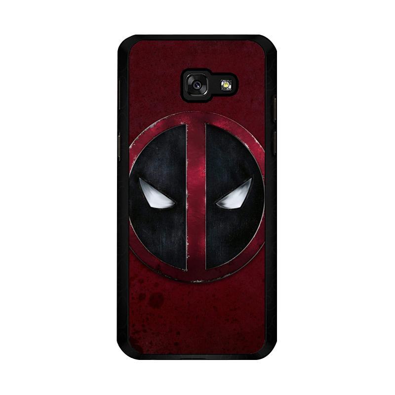 Flazzstore Deadpool Logo O0157 Custom Casing for Samsung Galaxy A5 2017