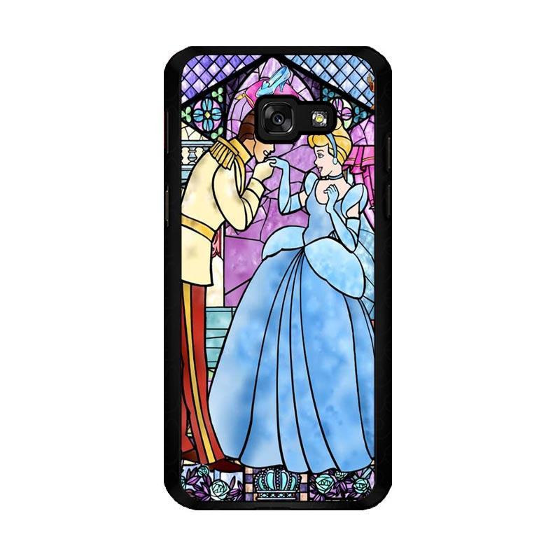 Flazzstore Disney Cinderella Stained Glass Z0723 Custom Casing for Samsung Galaxy A5 2017