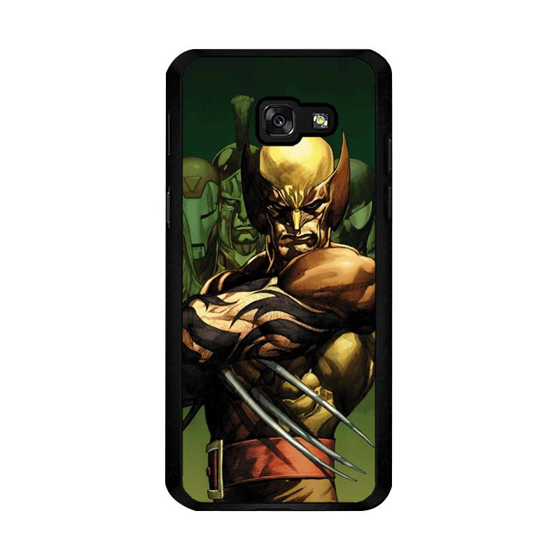 Flazzstore Dark Wolverine X-Man And Friend F0376 Custom Casing for Samsung Galaxy A5 2017