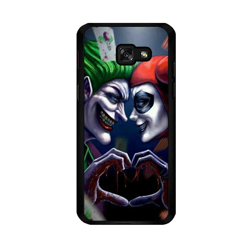 Flazzstore Harley Quinn And Joker Love F0447 Custom Casing for Samsung Galaxy A5 2017