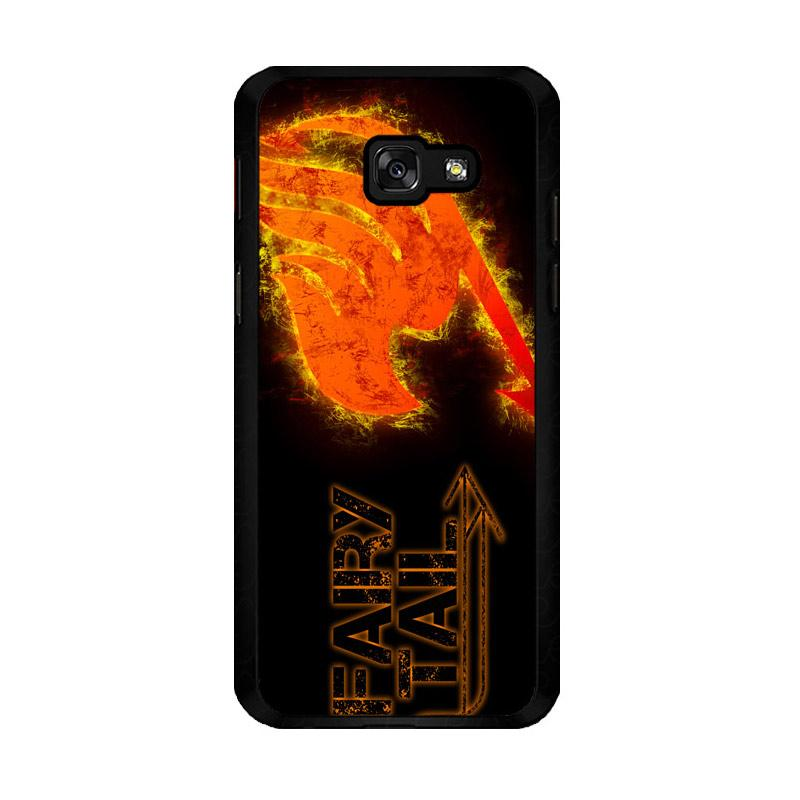 Flazzstore Fairy Tail Logo F0409 Custom Casing for Samsung Galaxy A5 2017