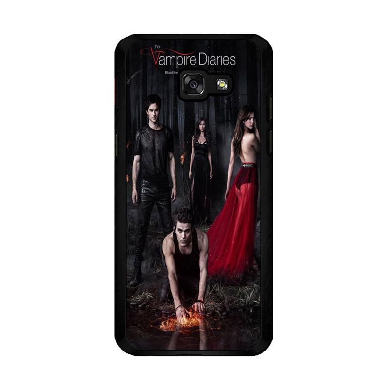 Flazzstore Vampire Diaries Season 5 Posters Z0151 Custom Casing for Samsung Galaxy A5 2017