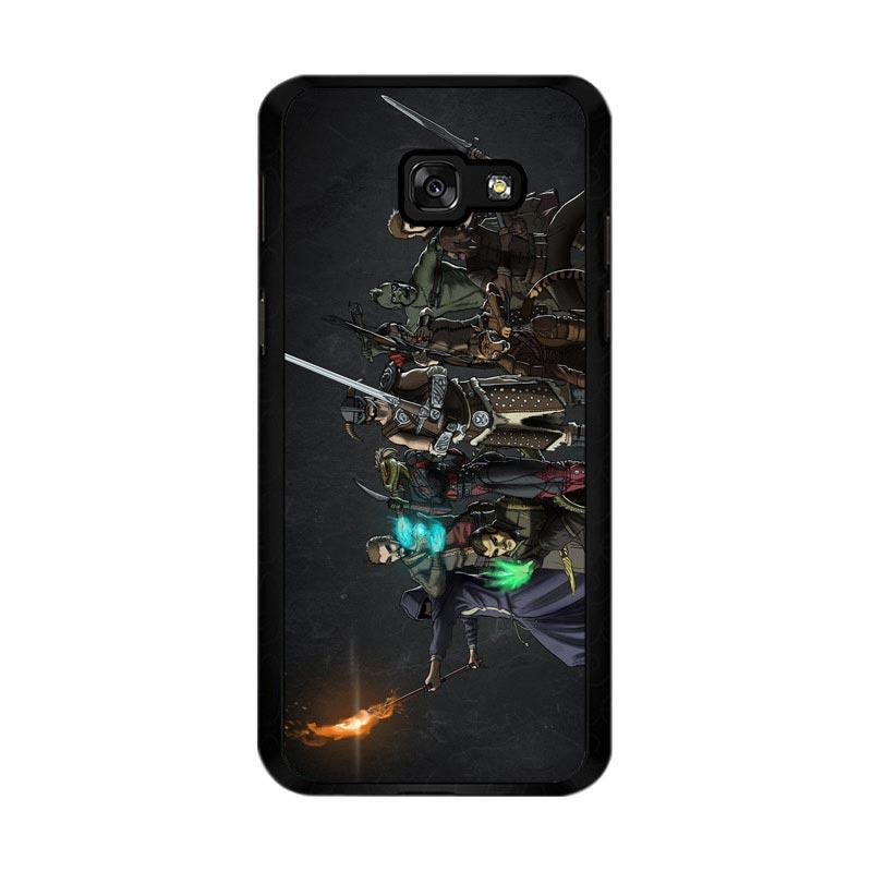 Flazzstore Skyrim Z0279 Custom Casing for Samsung Galaxy A5 2017