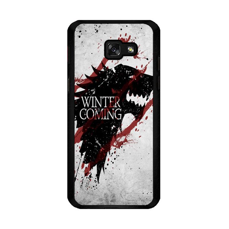 Flazzstore Winter Is Coming House Stark Logo Z0308 Custom Casing for Samsung Galaxy A5 2017